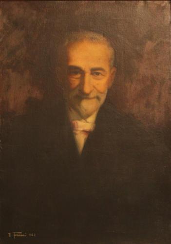 Giovanni Tranquilli, 1962, olio su tela, cm 50x66, Ascoli Piceno, Camera di Commercio
