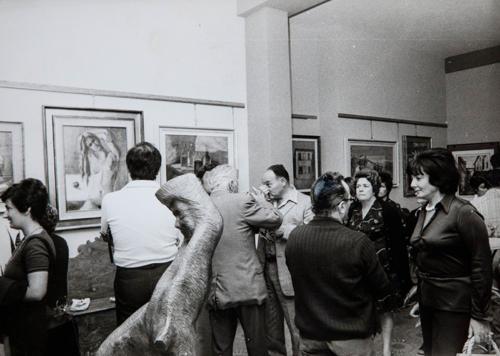 Vernissage. Ascoli Piceno, fine anni 70